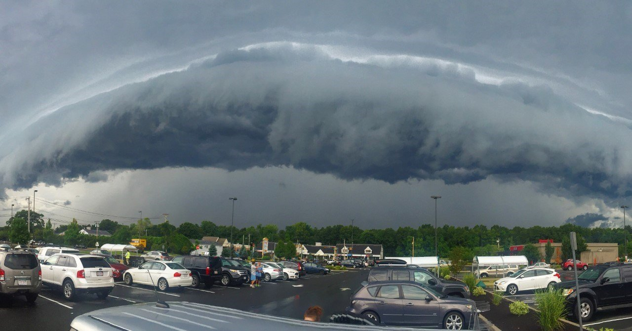 Thunderstorm in Wilbraham by Craig Rivest
