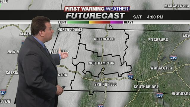 Wednesday, November 9th Forecast: Sunny & Warm Through Friday