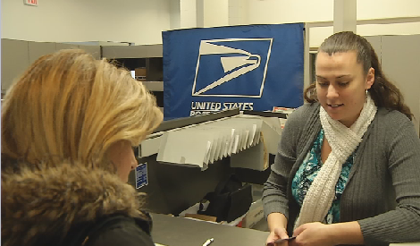 Lines form in Brevard to mail late Christmas packages