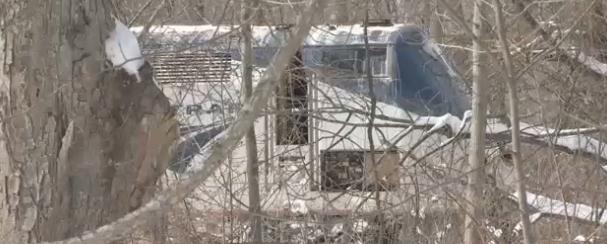 (Amtrak train at the scene) Western Mass News Photo