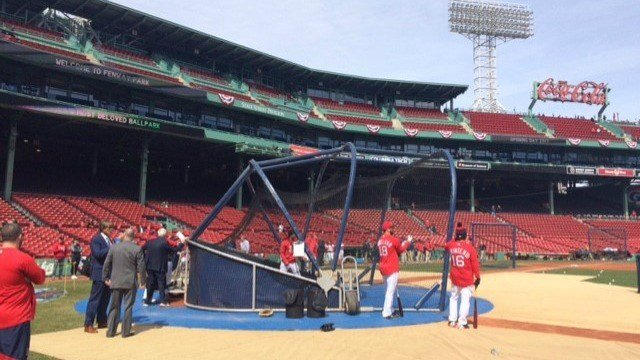 A sunny start for Red Sox opener in Boston