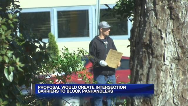 Holyoke City Council proposes intersection barriers to block panhandlers