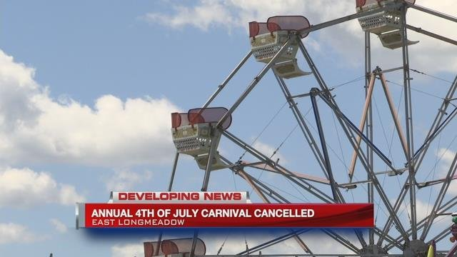 East Longmeadow 4th of July carnival canceled
