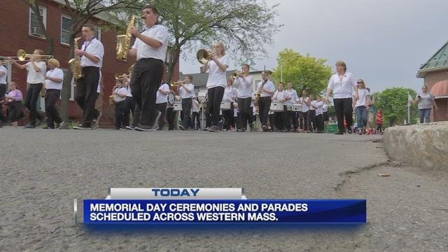 Rain cancels some Memorial Day events around western Mass.
