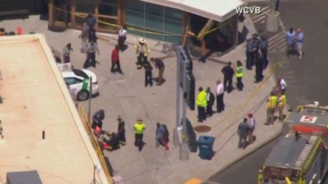Vehicle drives into pedestrians in Boston, multiple injuries reported