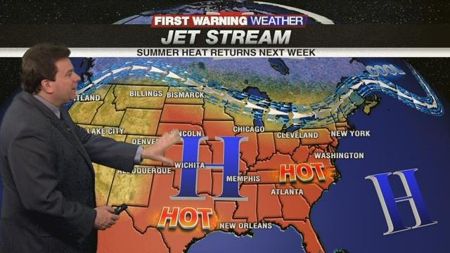 Warm End to Weekend, Humidity/Showers This Week