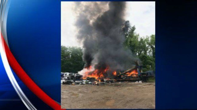 (photos courtesy Southwick Fire Department)