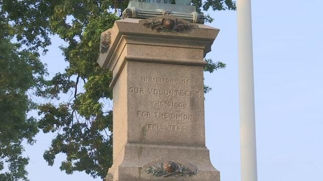 New plaque placed at Holyoke Veterans' Park sparks controversy