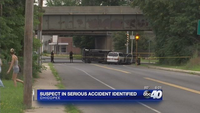1 arrested, 5 transported following serious accident in Chicopee