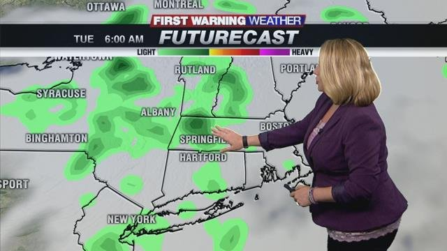 Lingering clouds and cool temps for another day