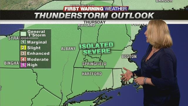 Turning humid and unsettled for Thursday