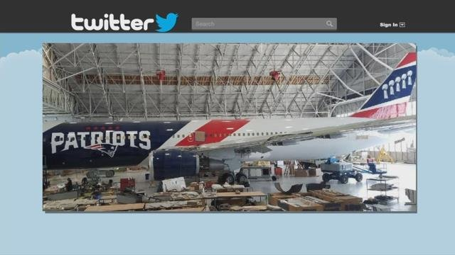 Patriots become first National Football League team to own team jet for travel