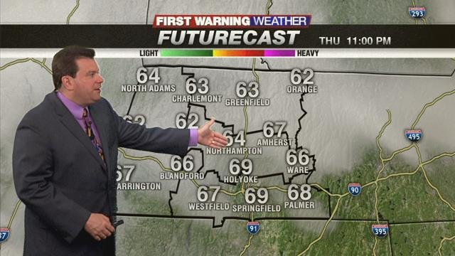 Evening Storms Wednesday and Thursday