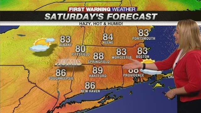 Temps on the rise this weekend