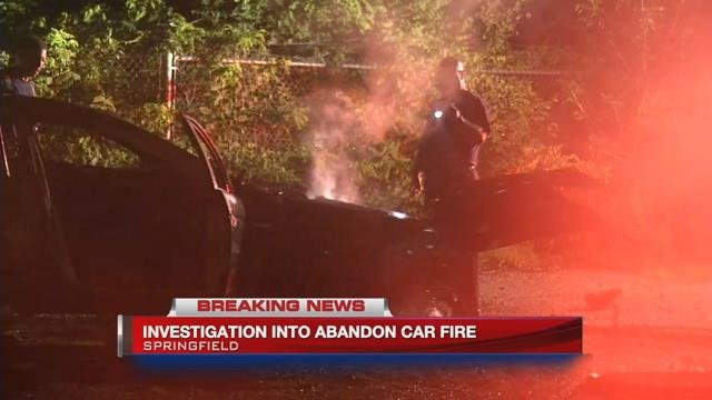 Arson and bomb squad investigate vehicle fire in Springfield