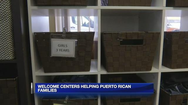 Welcome centers helping Puerto Rican families