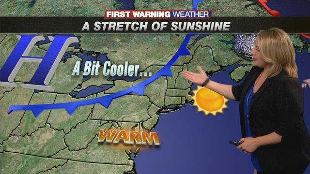 If you like sun and 70s, you'll love this forecast