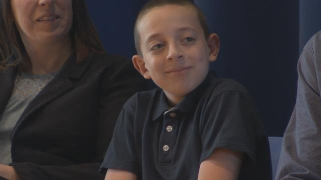 Springfield boy discusses night spent in Forest Park