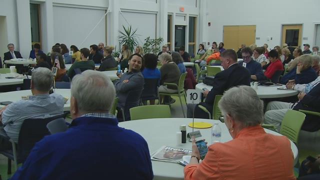 Holyoke mayoral debate held at senior center