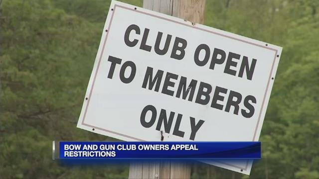 Granby Bow and Gun Club hearing to be rescheduled