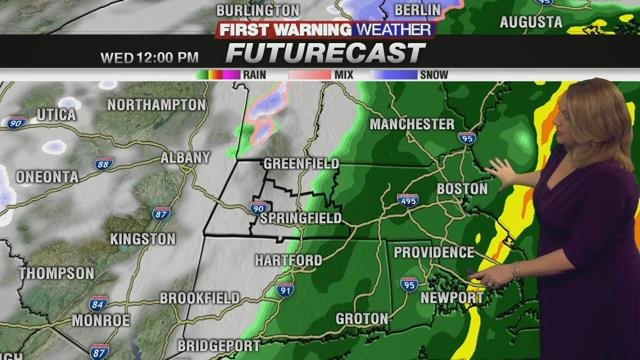 Soggy Wednesday morning, then turning colder for Thanksgiving