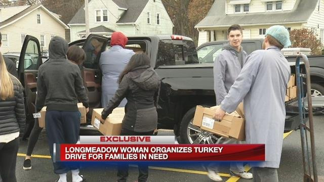 Longmeadow woman organizes turkey drive for families in need