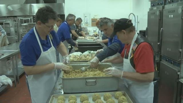 Chicopee volunteers distribute thousands of Thanksgiving meals