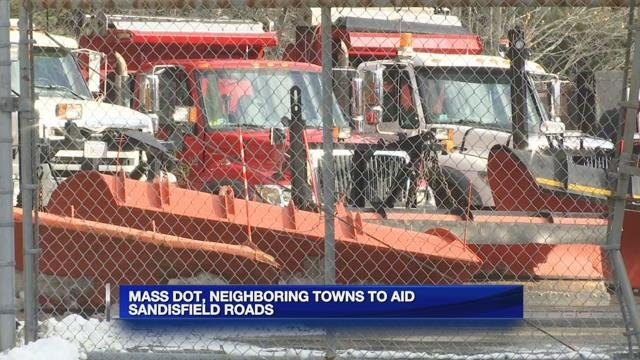 State, neighboring towns to help Sandisfield after highway dept. fire