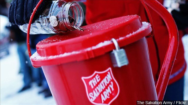 Salvation Army Bell Ringer Beaten for Wishing a Man 'Merry Christmas'