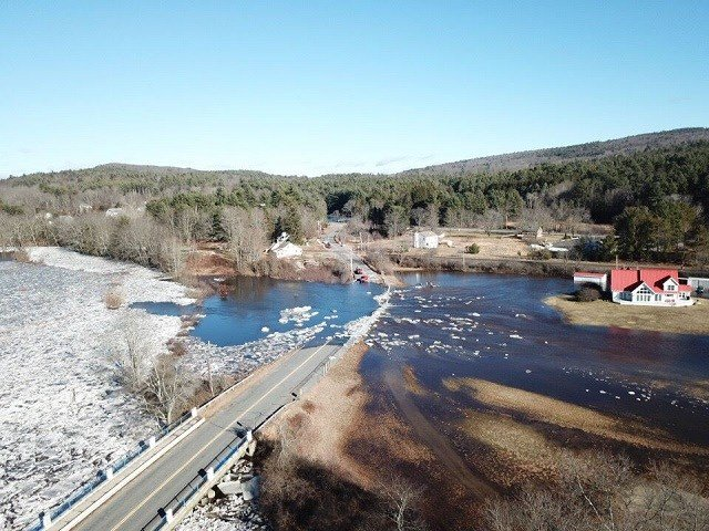 Officials still monitoring high water, ice jam