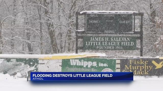 Local organization raises funds to repair Athol little league field