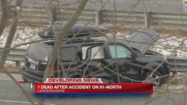 CT man killed in crash on I-91 North in Longmeadow