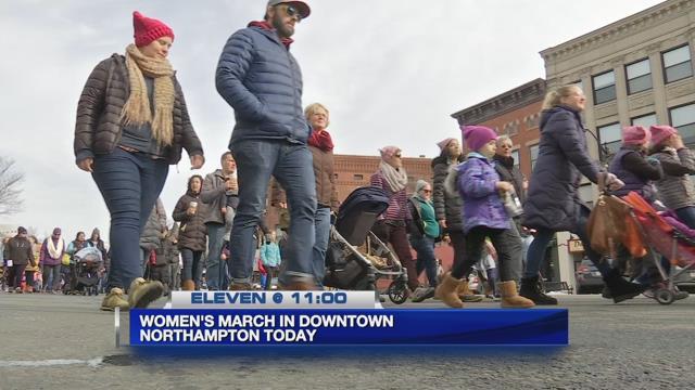 Norhtampton's women's march