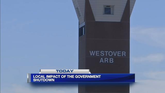 Government shutdown being felt across western Mass