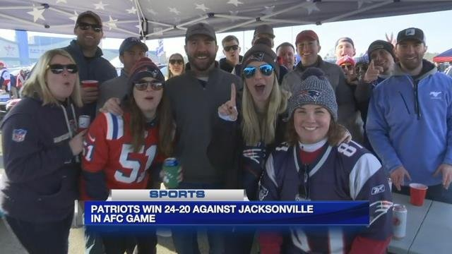 WMass fans travel to Gillette to cheer on the Patriots