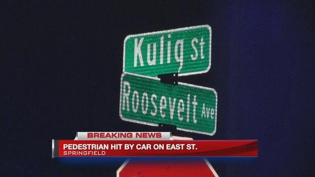 Springfield Police investigating a serious pedestrian accident