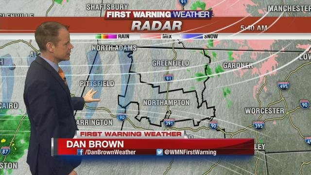Icy, fog, rain, warmth and wind all in today's forecast
