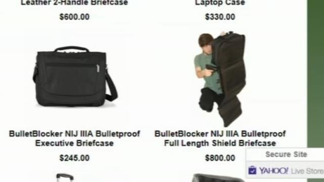 Sales of bulletproof backpacks rise after Florida shooting