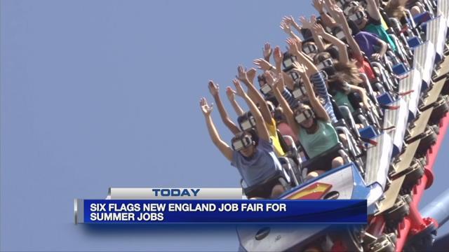 Final day of Six Flags job fair