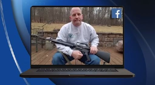 U.S.  gun owners destroy rifles in #OneLess response to Florida school shooting