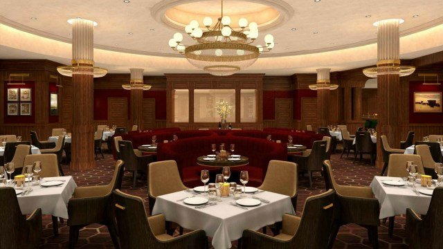 Artist rendering of The Chandler Steakhouse (Photo provided by MGM Springfield)