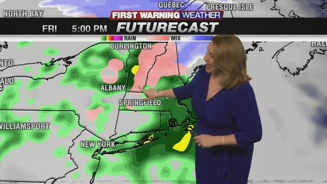Wet weather back to end the week