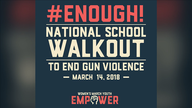 (Women's March Youth / Enough! National School Walkout photo)