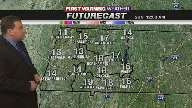 First Warning Meteorologist Don Maher's Saturday Evening Forecast