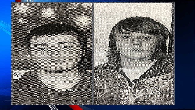 Chicopee PD seek to locate Jonah Miner (Left) and Benjamin Wheeler (Right)