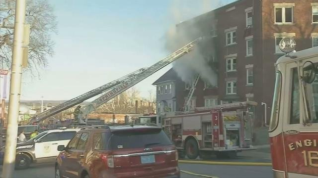 Community shows support for victims of deadly Springfield apartment fire