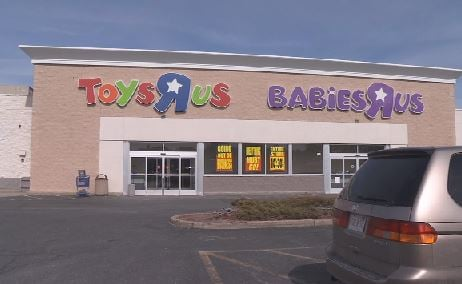 Liquidation sales begin at area Toys R Us stores
