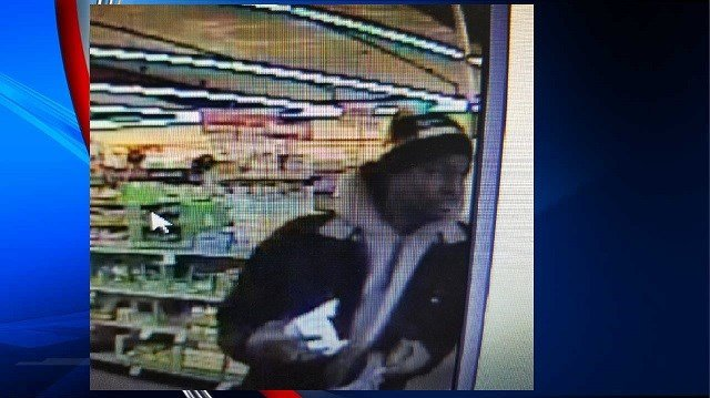 Anyone who can identify this suspect is asked to contact Chicpoee police at (413) 594-1740 (Image Courtesy: Chicopee PD)
