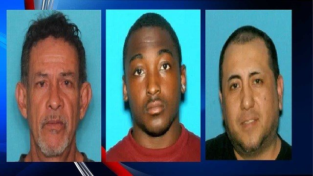 Pictured from Left to Right: Ramon Torres, Wilson Clay, Daniel Escalante (Image Courtesy: State Police)