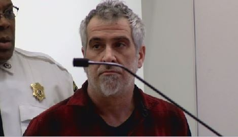 Nelson LaCaprucia, seen in court on March 29, 2018 (Western Mass News photo)